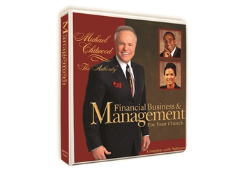 Church Financial Business & Management Manual w/Software